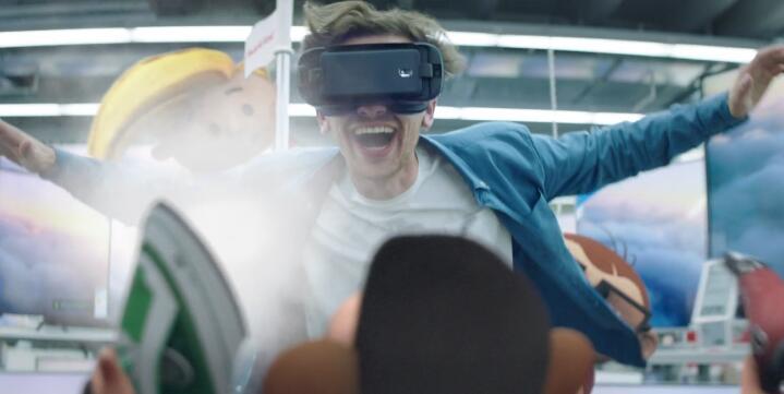 MEDIA MARKT VR眼镜全息虚拟