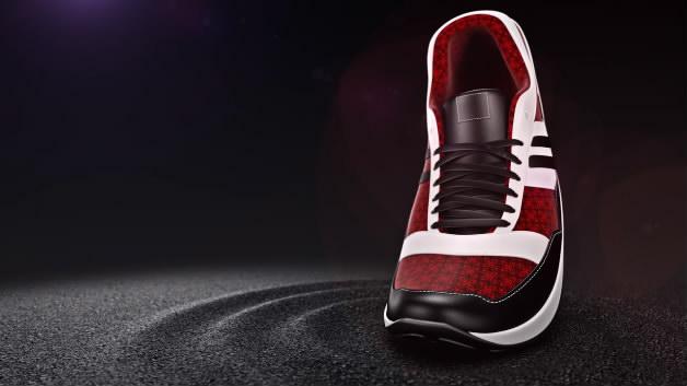 鞋子特效动画红色鞋子