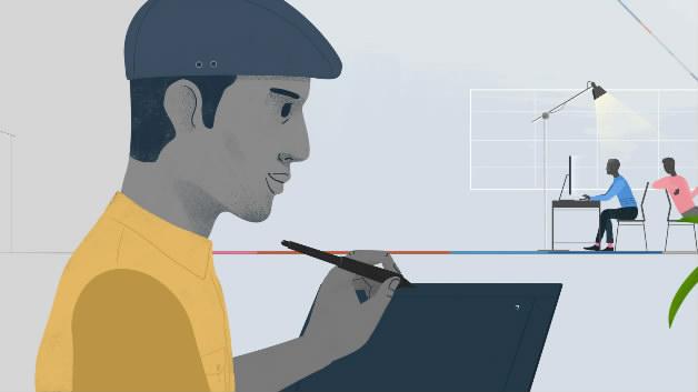 Looxid Labs流畅创意设计MG动画创意