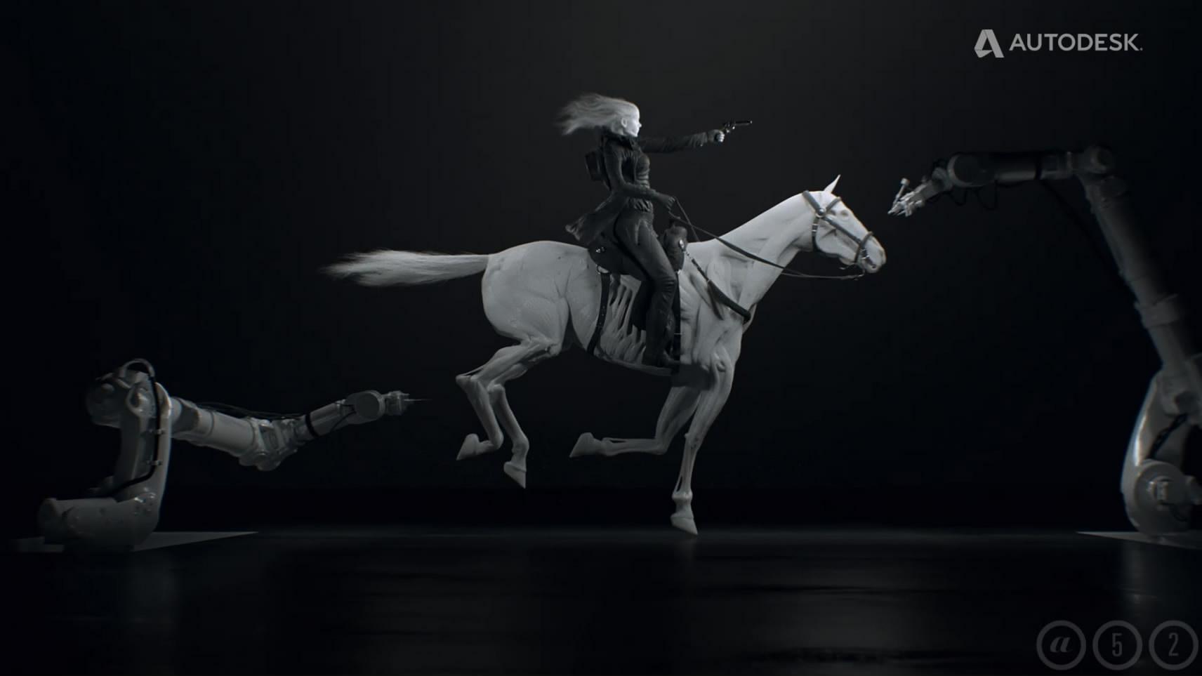 Autodesk VFX Showreel 2017样片参考