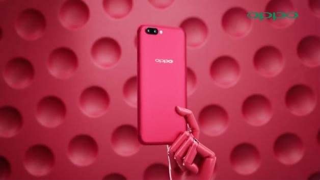OPPO 极致魔力红眨眼手机