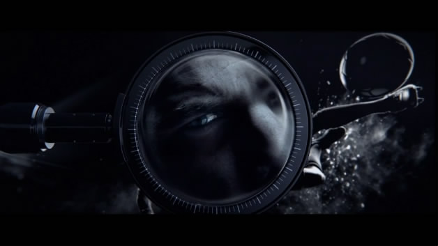 Canal投影机暗黑投影创意不错