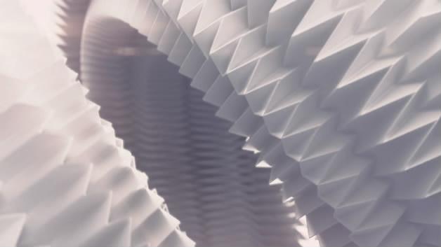 Iggesund - 纸品牌宣传片纸张动画纸张折叠植物