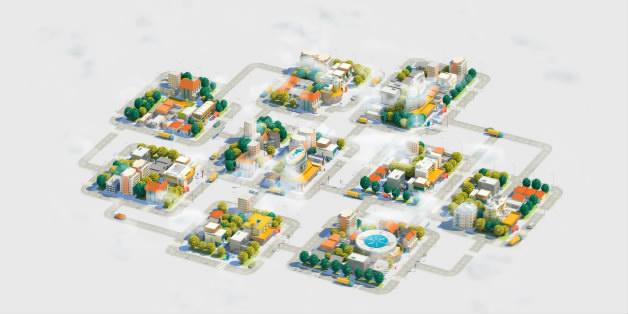 三维MG城市动画二维MG变形城市