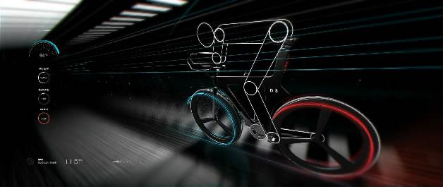 自行车baike智能三维产品动画演示