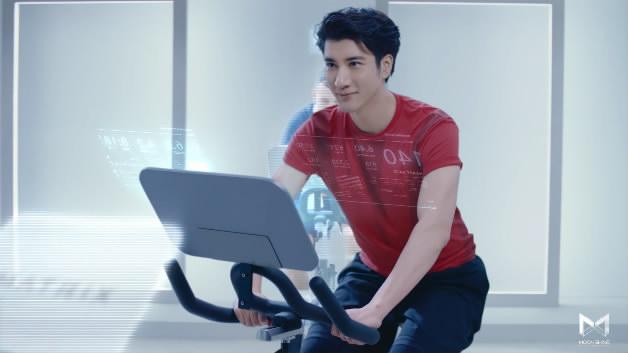 健康运动医疗器械健身科技明星代言