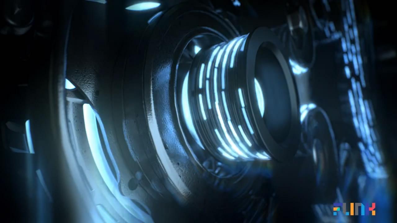 铃木汽车三维产品光线电流钻石流体实拍合成