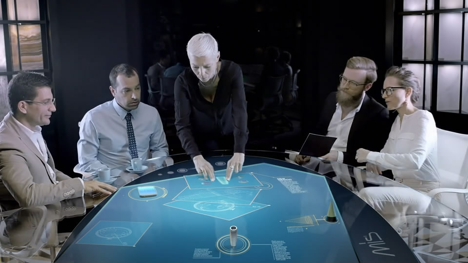 MIS V3宣传片参考办公人员产品生产三维特效研发