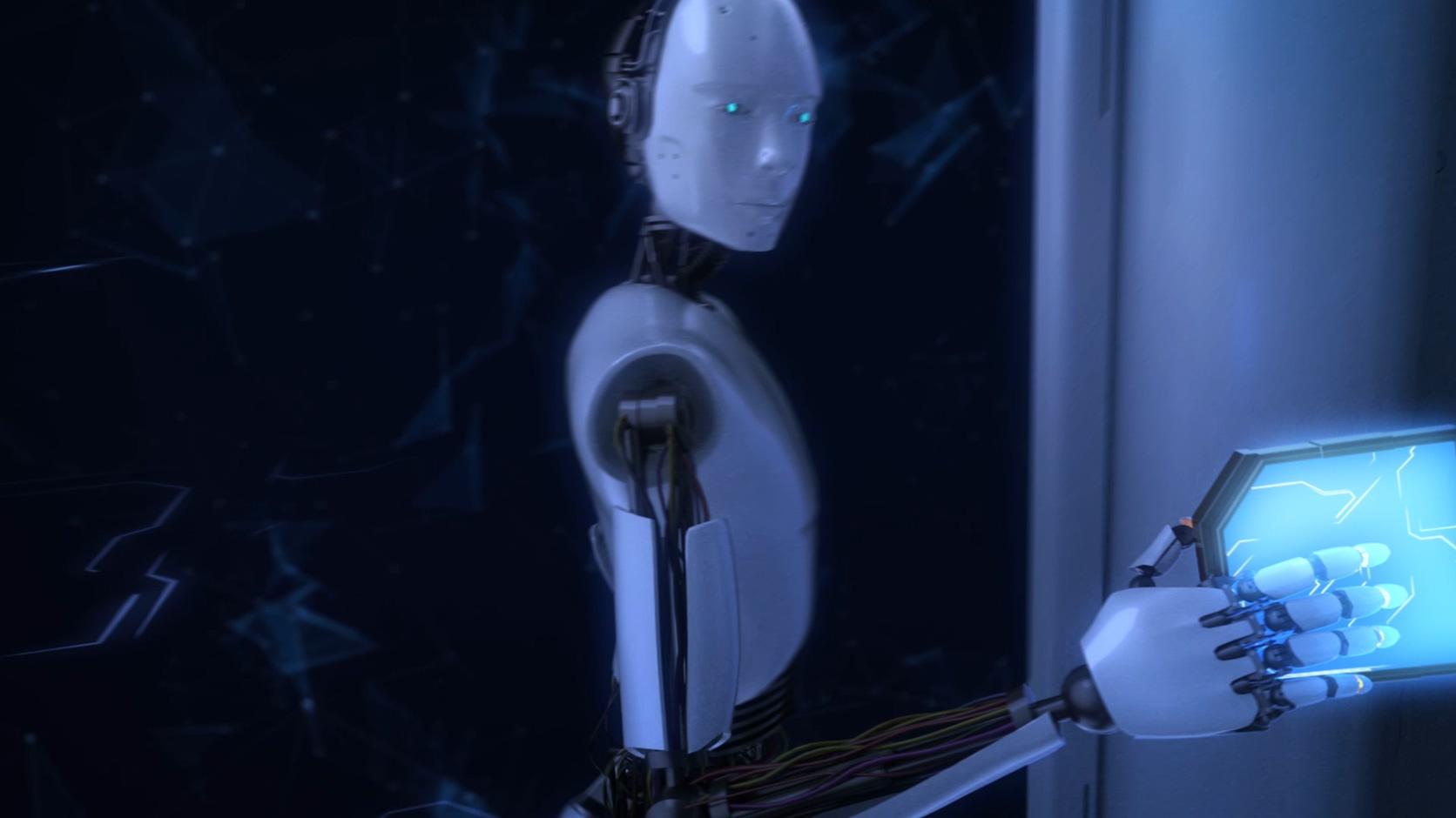 AI智能未来科技区块链智能驾驶智慧医疗