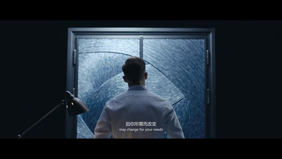智能门锁智能未来门科技商务演员创新高端宣传片
