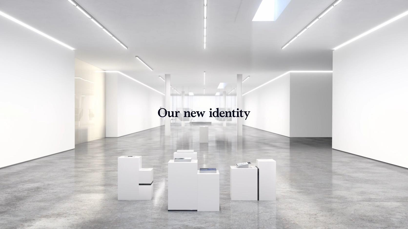 打字机简洁艺术空间干净亮白艺术场景科技场景