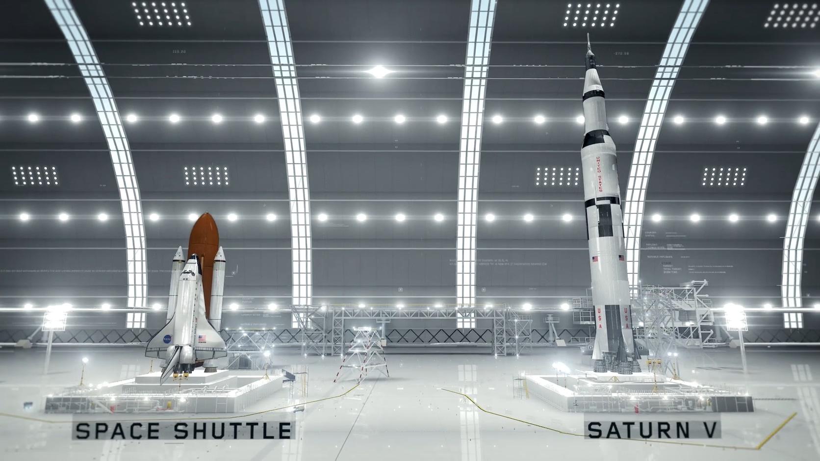 NASA宇宙空间火箭太空科技包装暗黑粒子包装
