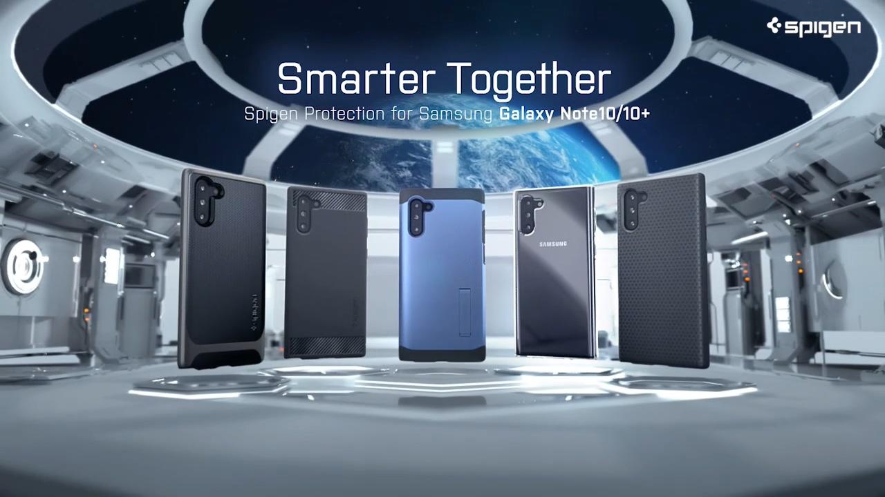 三星手机质感三维产品空间艺术洁白科幻配乐科技