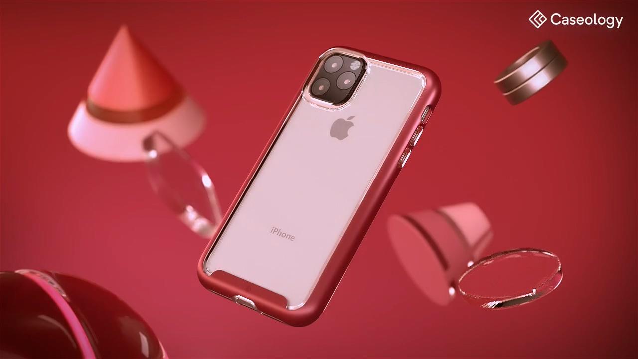 iPhone 11 X手机质感三维苹果产品动画