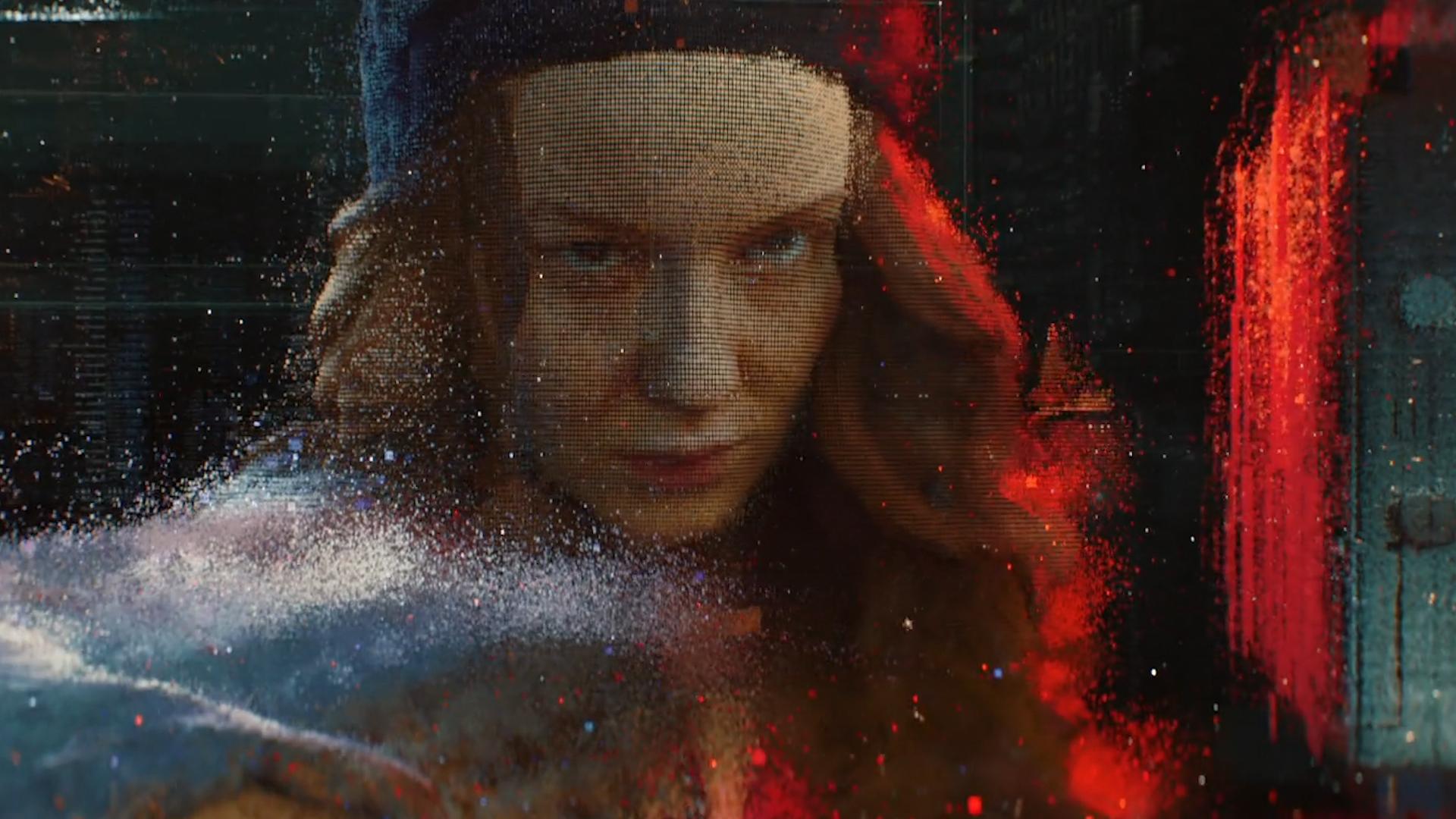 《入侵》震撼粒子角色粒子化星空镜头穿梭过渡衔接片头