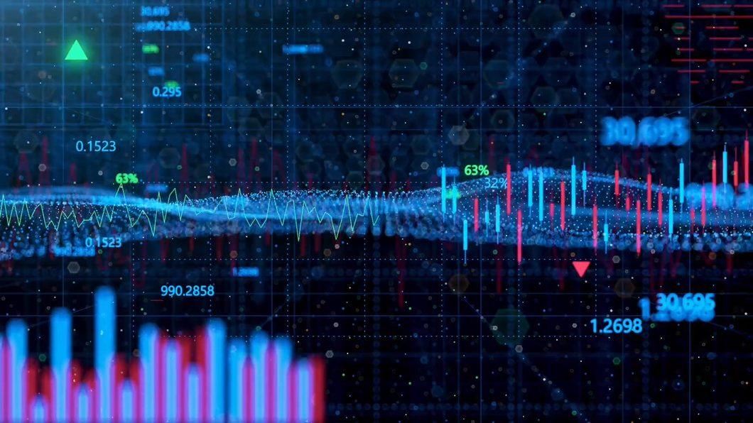 box汇聚方块空间场景股票软件手机行情股市科技