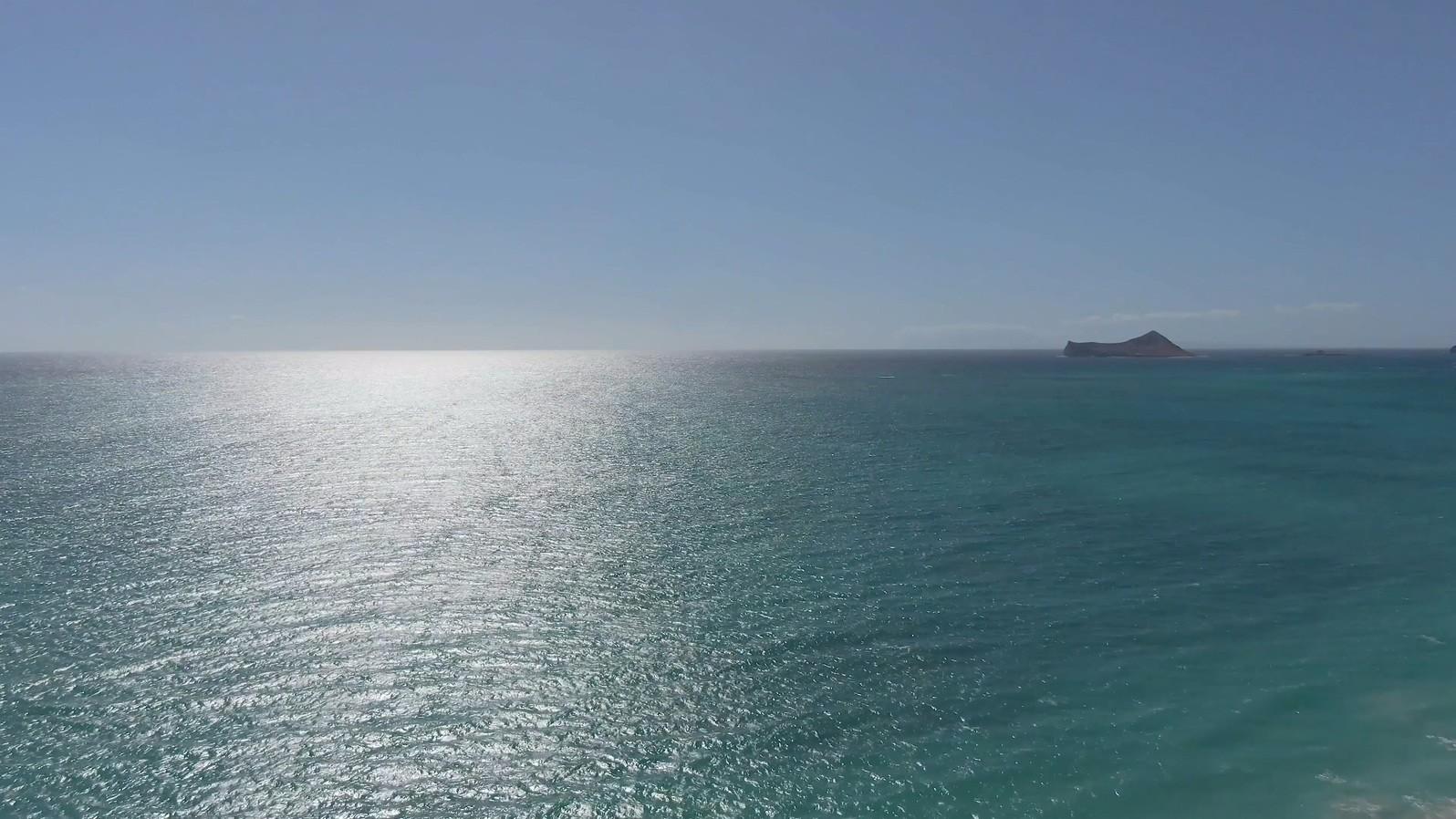 海岸线海边海滩沙滩海洋天际线