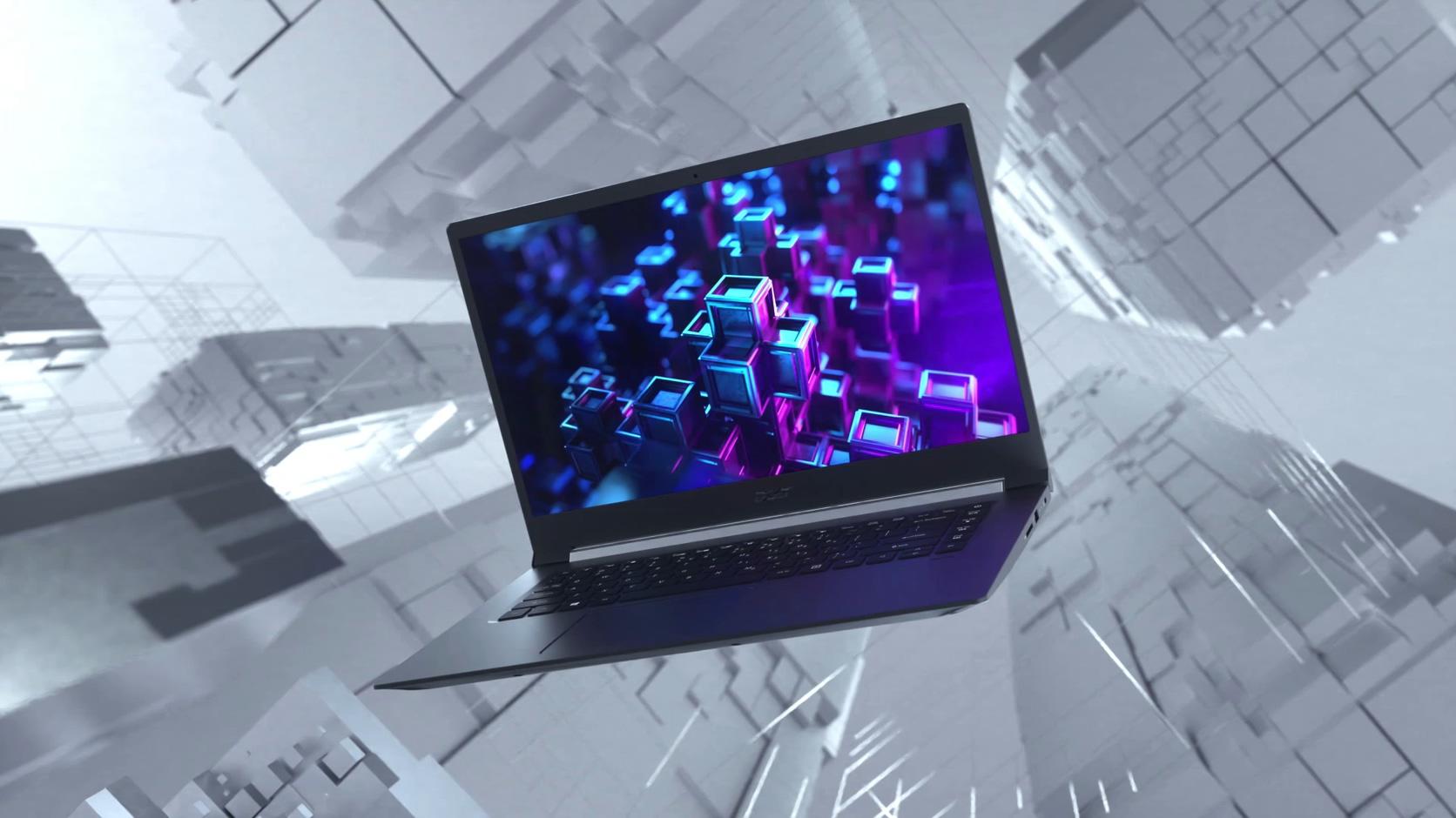 宏碁ACER笔记本亮白质感BOX隧道时空场景空间芯片电路板
