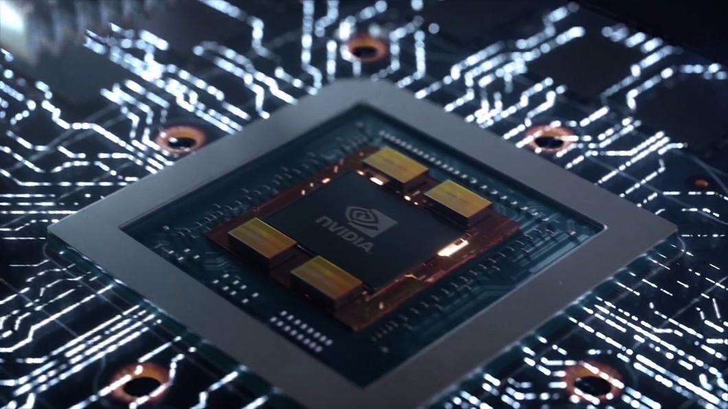 芯片电路科技光线显卡电路英伟达科技质感