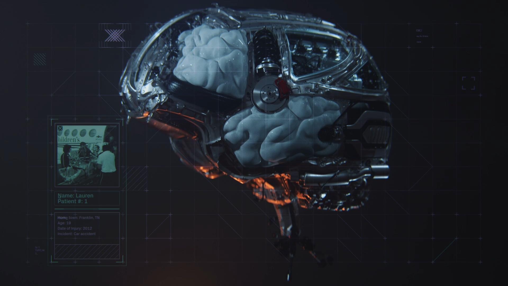 AI智能大脑学习能力科技计算数据网格神经医学细胞XP线条